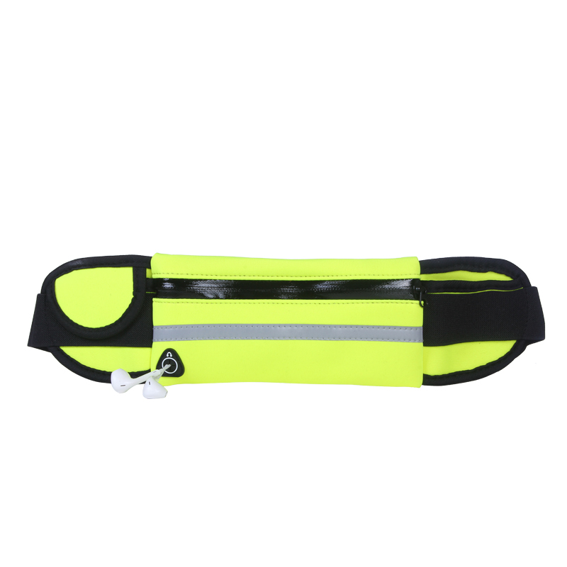 New running waist bag for women men mobile phone waist bag