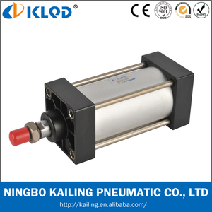 SC 80x200 aluminum material double acting air pneumatic cylinder with KLQD brand