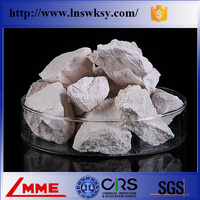 China Shenyang LMME Low price natural brucite lump/spheroids for industrial using