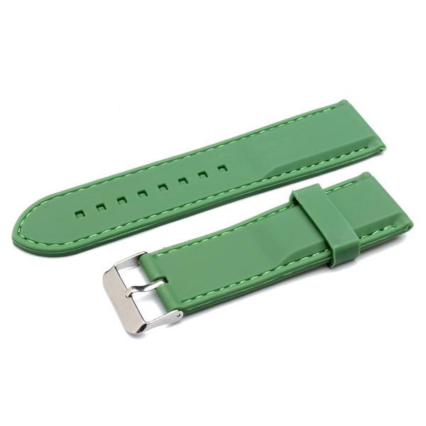 100% новый высокое качество 22 мм 24 мм 26 мм резина мужчины женщины психического наручные часы группа