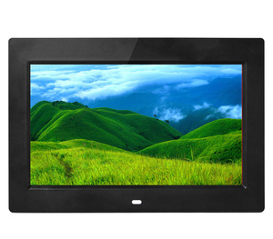 "10"" TFT LCD Digital Photo Frame with built in battery"