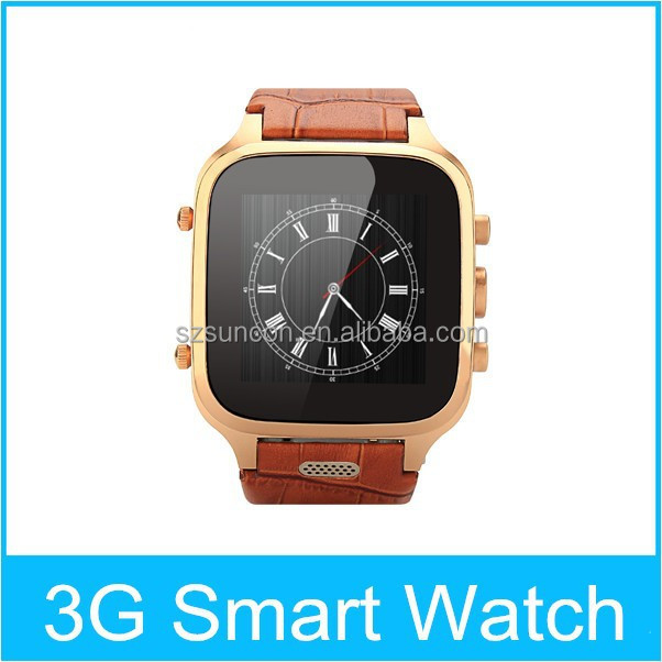 Smart watch W9 android 4.4 3G WIFI AGPS GPS 1+8G dual core watch mobile phone