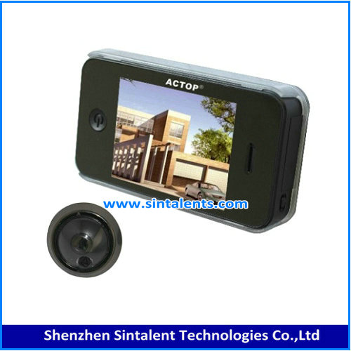 "Free shipping! 2.4"" LCD Screen Monitor Digital Door Viewer with Photo Digital Camera door viewer peephole"