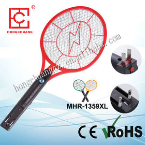 High quality cheapest price rechargeable electrical mosquito swatter/mosquito bat
