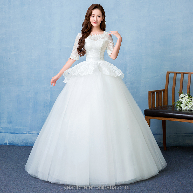 Sleeve Lace Wedding Dress, Sleeve Lace Wedding Dress Suppliers and ...
