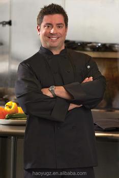 Plus Ukuran Seragam Chef Masak Memakai Pakaian Kualitas Tinggi Di Dapur