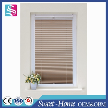 Newest day night pleated blind/plisse curtain/cordless pleated blinds