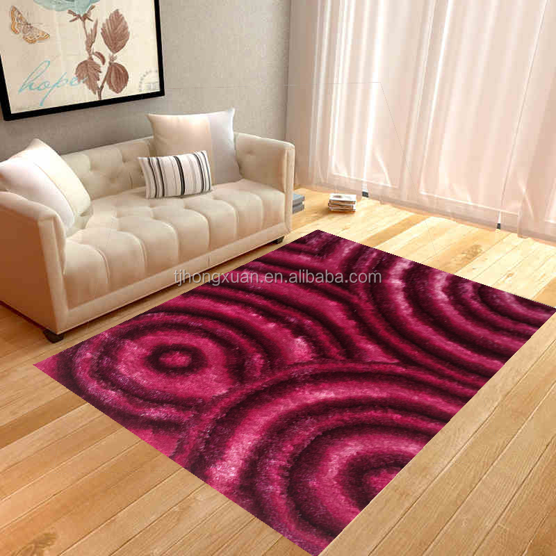 modern design 3d carpets and rugs factory sales