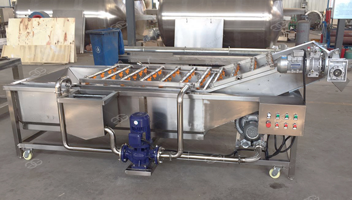 Industrial Automatic Palm Date Potato Cleaner Washer Apple Carrot Drying Production Line Fruit and Vegetable Washing Machine 5