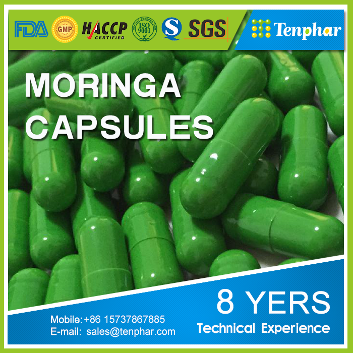 10 years Experience China Factory Moringa Seed Supplement Softgel