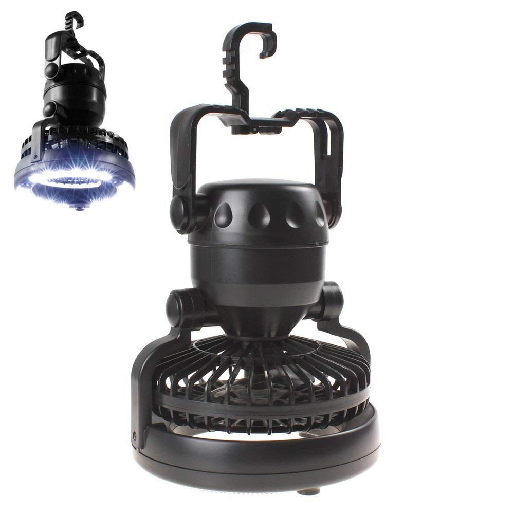 Kbxstart Portable Led Camping Lantern With Ceiling Fan Outdoor