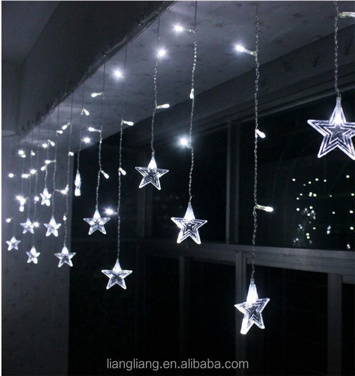 groothandel led kerst verlichting outdoor gordijn voor raam