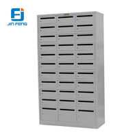 Multi Drawers Steel Medicine Cabinets Index Cards File Cabinets
