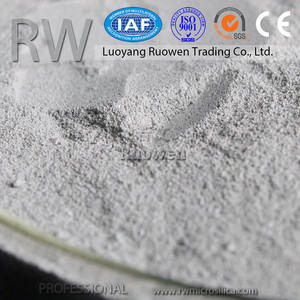 Strong strength grey densified micro silica fume cement additive in cement