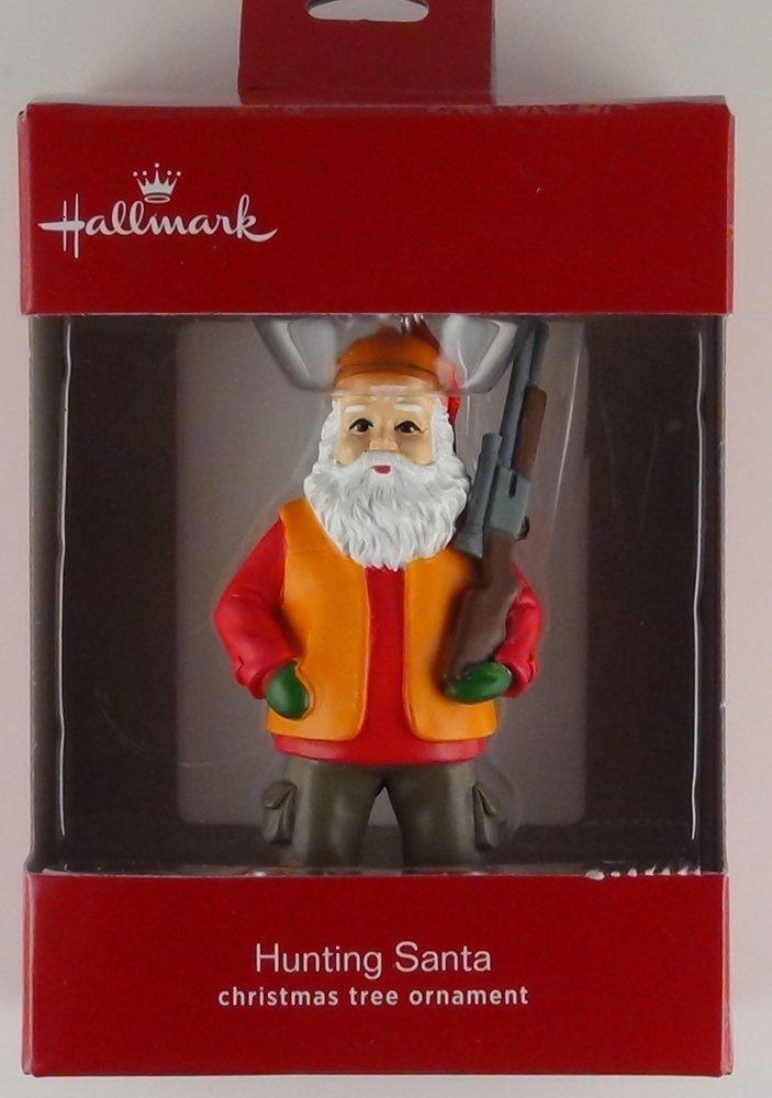 Hallmark Hunting Santa Christmas Tree Ornament 2016
