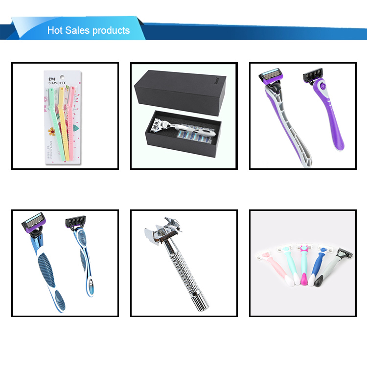 6 blade OEM service replacement blade cartridge razor for men's shaving
