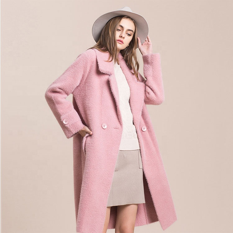 Pretty steps High Quality <strong>Fashion</strong> Elegant <strong>Winter</strong> Wool <strong>Coats</strong> Young Ladies Long Jacket