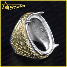 gold plated cheap wholesale men indonesia stainless steel ring