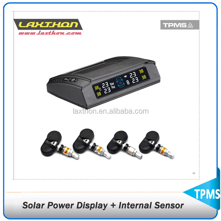 Hot Selling Zonne-energie Display auto bandenspanning sensor