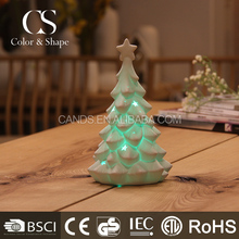 Wholesale home goods Christmas tree LED table lamp