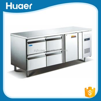 Restaurant Kitchen Fridge drawer fridge/commercial kitchen refrigerator/stainless steel