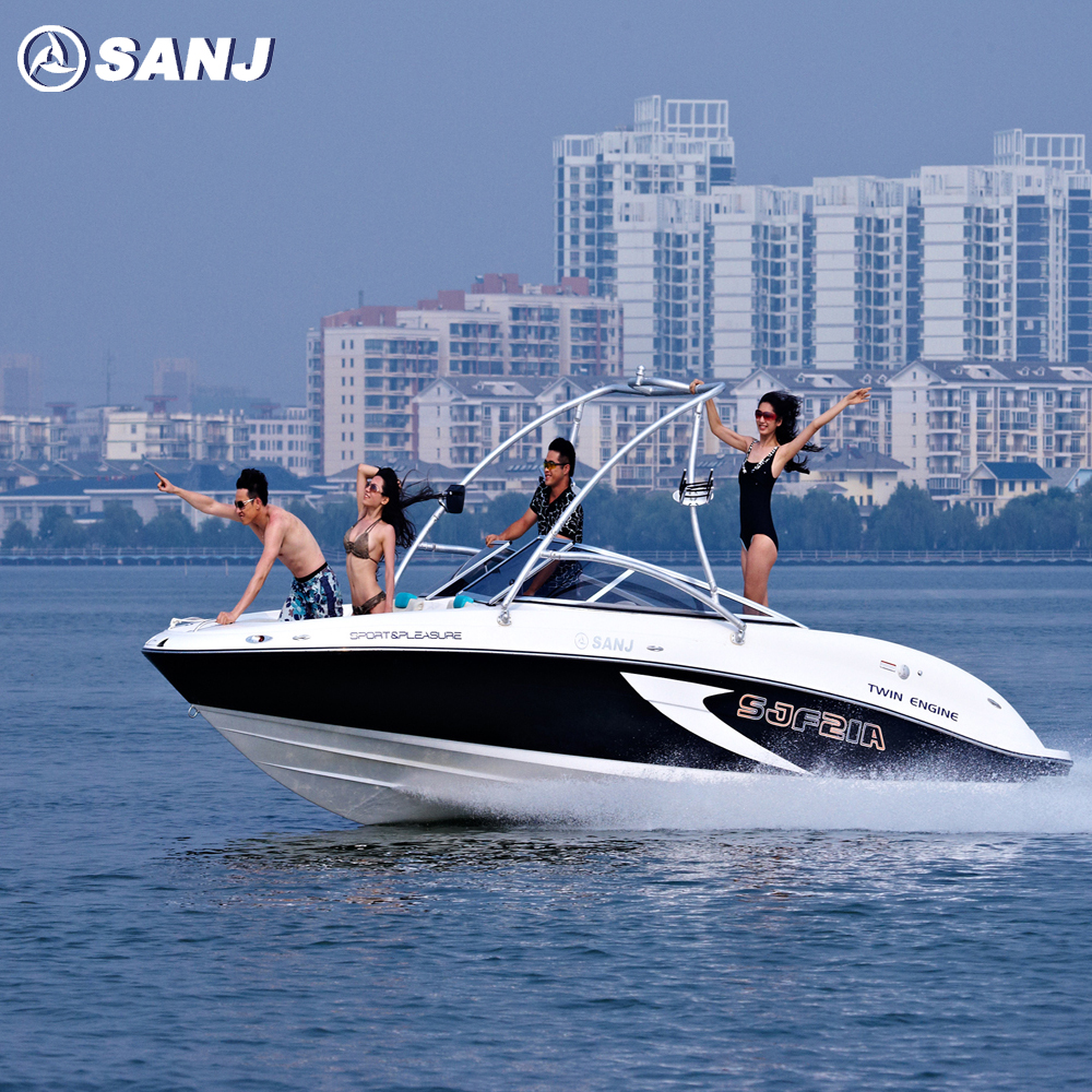 Inboard ski wakeboard pleasure boat