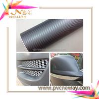 guangzhou neway competitive price pvc carbon fiber vinyl/carbon fiber car parts(alibaba store)