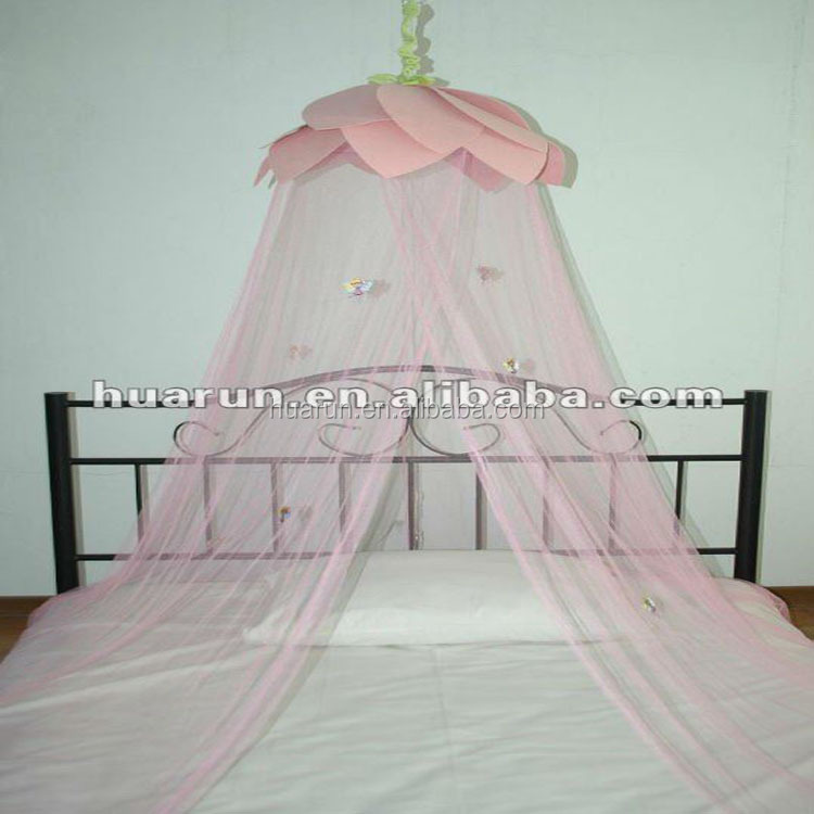 Lovely Cotton Baby Crib Nets/mosquito Nets Anti Mosquito Princess Canopy Bed Valance Kids Room Decoration Baby Bed Round Tent Curtains Crib Netting