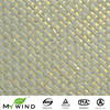Luxury Golden Effect Glitter Walls Decoration Wallpaper,Beige Paper Weave Texture For Modern Home And Hotel Decor