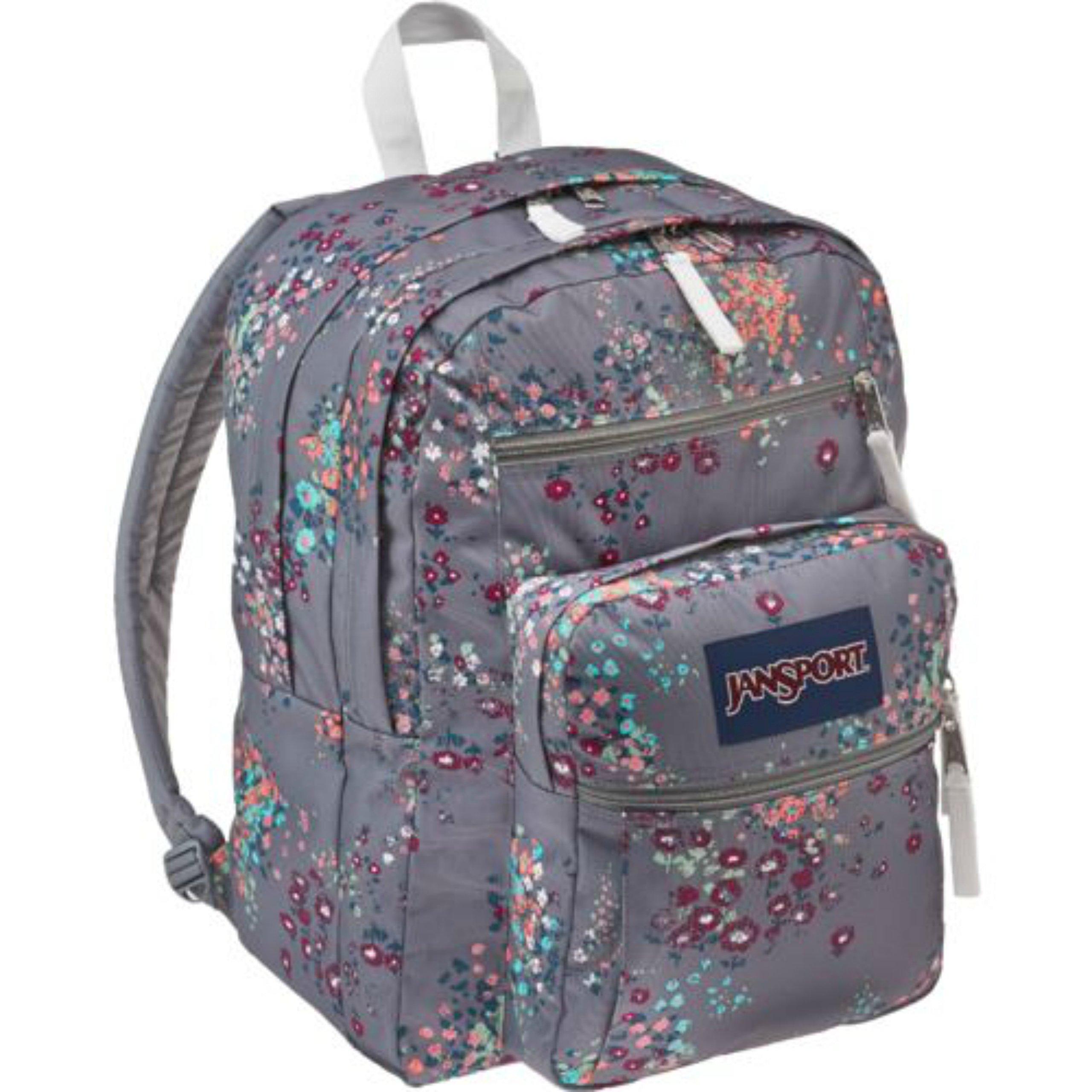 5125ba61f8 Get Quotations · JanSport Big Student Shady Grey Sprink Backpack