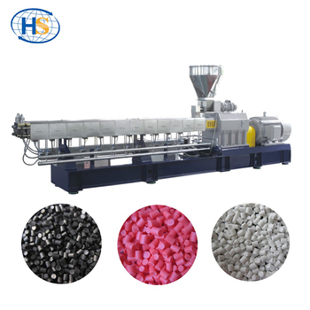 China Extrusion Manufacturer Plastic Polymer Pellet Twin Screw Extruder  Price - Buy Double Screw Extruder Suplier,Plastic Manufacturing