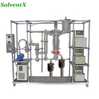 Industrial Glass Molecular Distillation Equipment For Cbd Oil - Buy Hot  Film,Film Evaporator,Molecular Distillation Product on Alibaba com