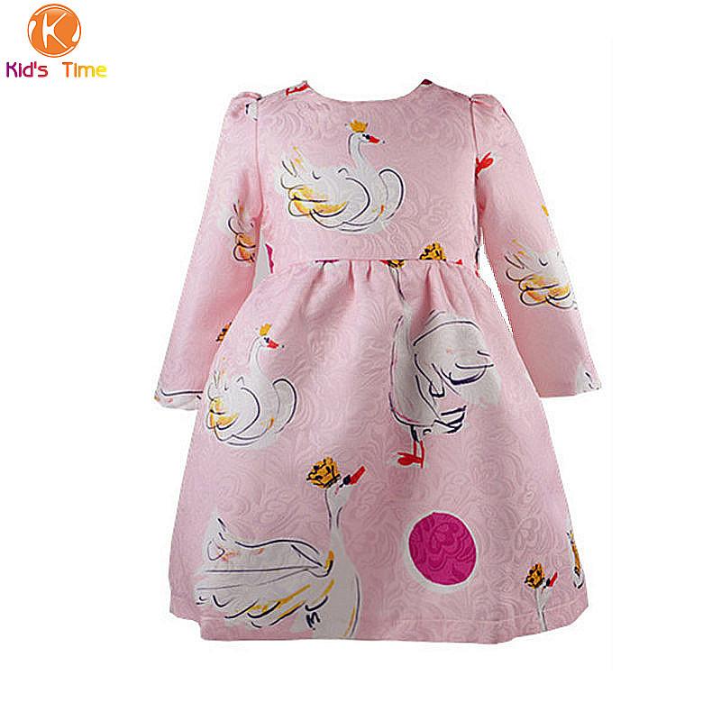 72957dce8 Buy Girls Winter Dress 2015 Brand New Autumn Baby Girl Dresses ...