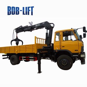 Folding Arm Hydraulic Truck 8 ton Mobile Crane