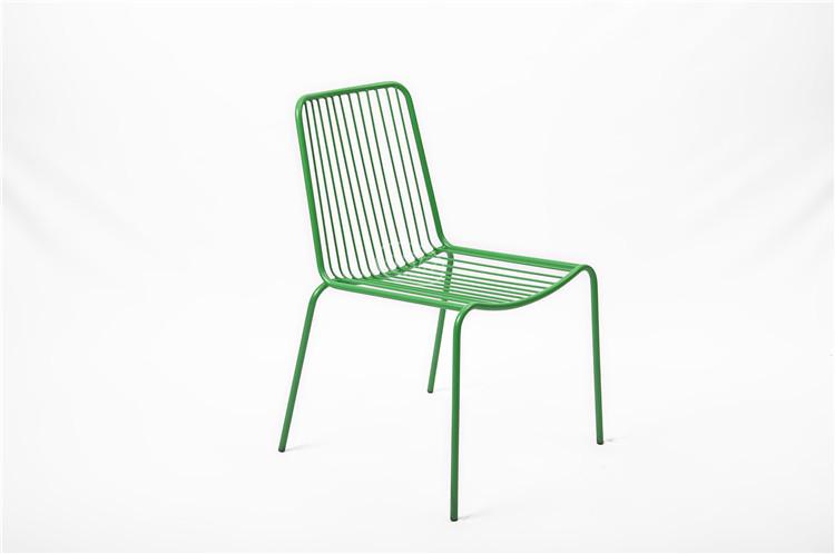 Sedie Da Giardino In Ferro : Francese in ferro battuto mobili da giardino sedia da pranzo in