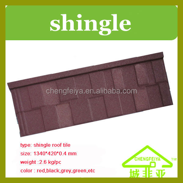 real Africa shingle roofing building material