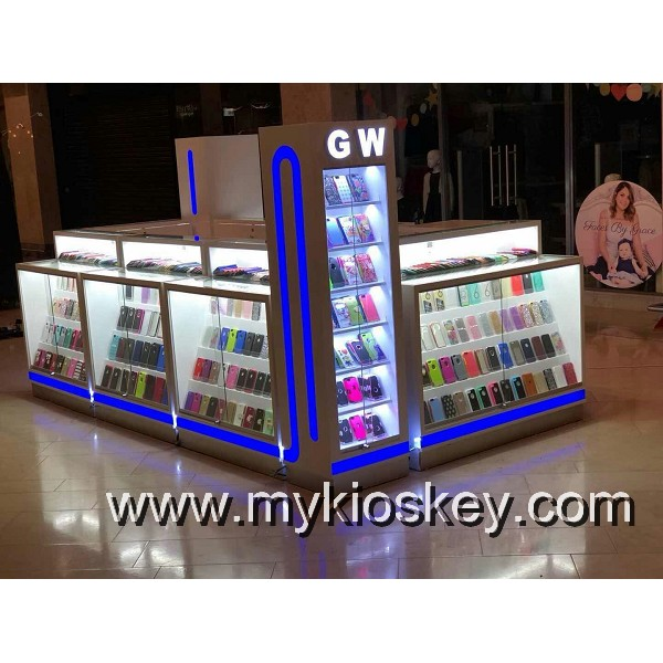 mobile phone display cabinet
