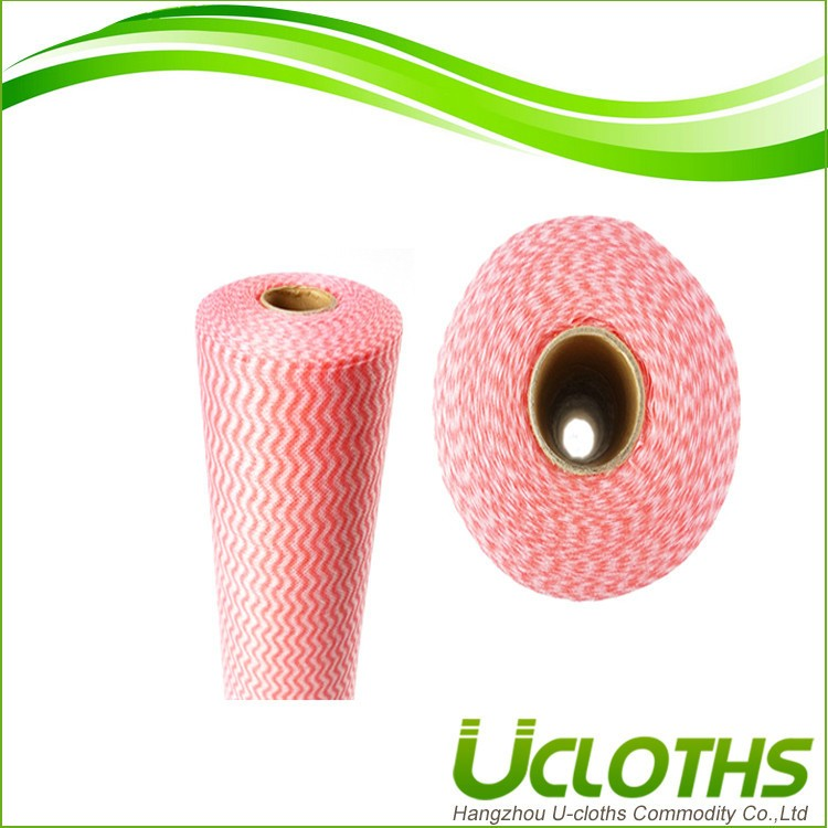 China made home use spunlace nonwoven disposable kitchen towels