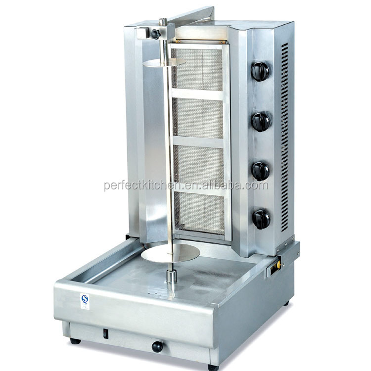 GB-950 Teller Top Gas Kebab Machine/Shoarma Grill Machine Voor Verkoop