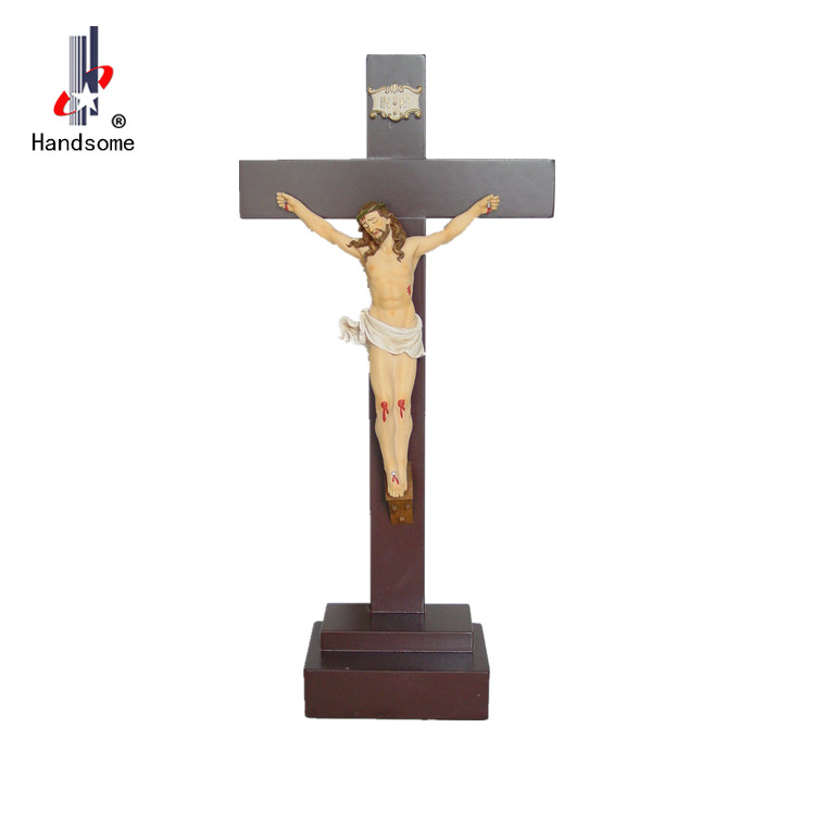 Catholic religious Items wooden crosses christmas hanging ornament