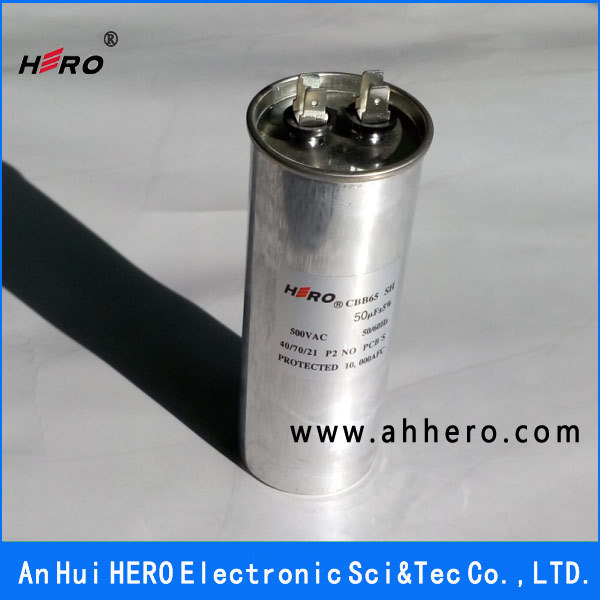Air Conditioner Capacitor 50uF 500VAC Nut