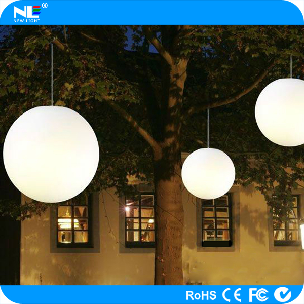 Color changing outdoor led hanging light balls christmas and 140g aloadofball Image collections