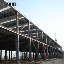 quick build prefabricated commercial steel warehouse multi story building