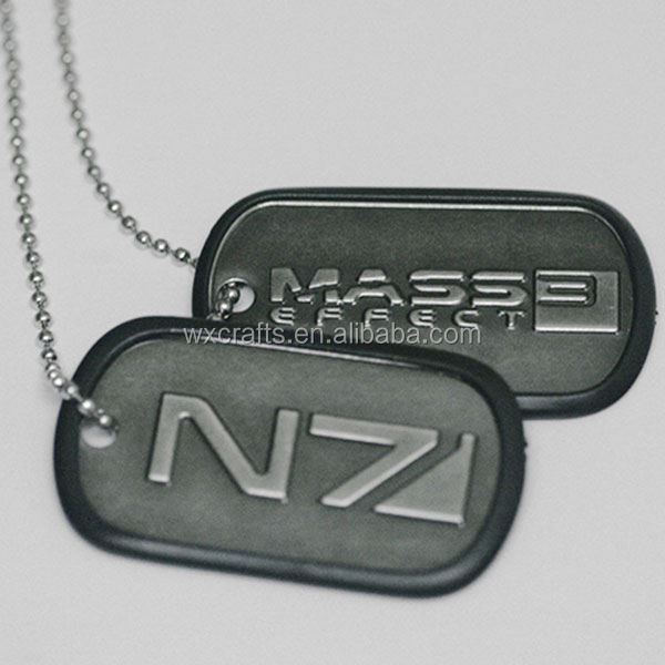 Whole sale sublimation blank pet dog tags for cheap with chain