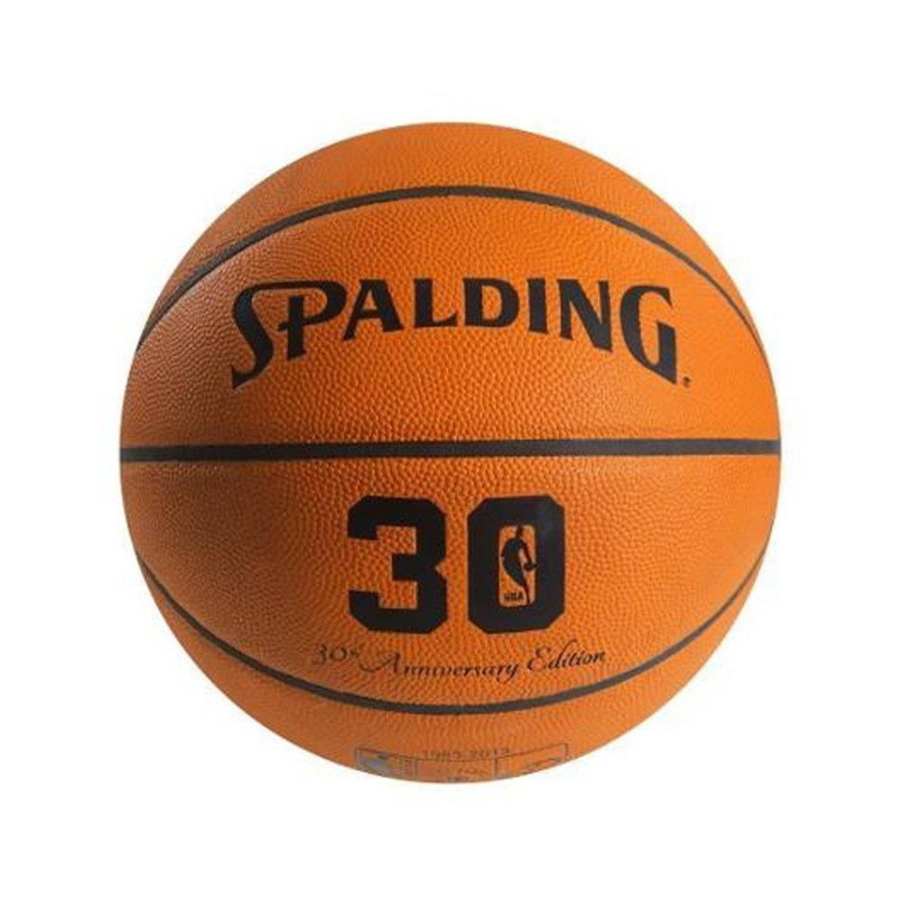 Spalding 30th Anniversary Official NBA Sports Team Leather Game Basketball
