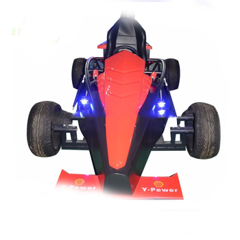 New design movie power electric car racing game machine 9D vr racing