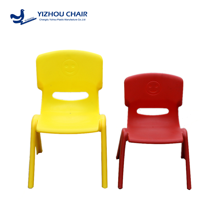durable blue stacking chairs for children