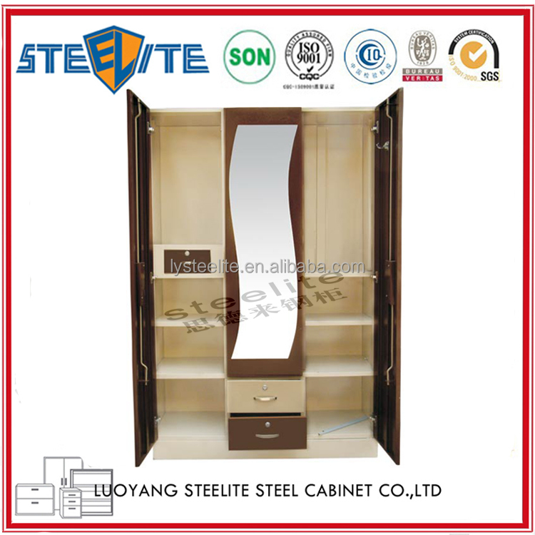 Schlafzimmerschrank design  godrej stahlklappdach almirah schlichtes design ...