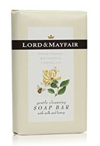 Lord & Mayfair Deodorant Body Bar with Essence of Lemon and Eucalyptus, 1.75 Ounce Bar, Individually Paper Wrapped, 200 Bars per Case