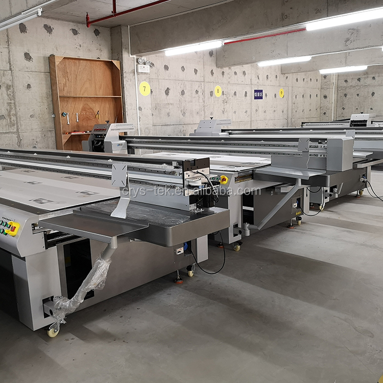 uv flatbed 2513 printer industry uv flatbed printer with industry printhead